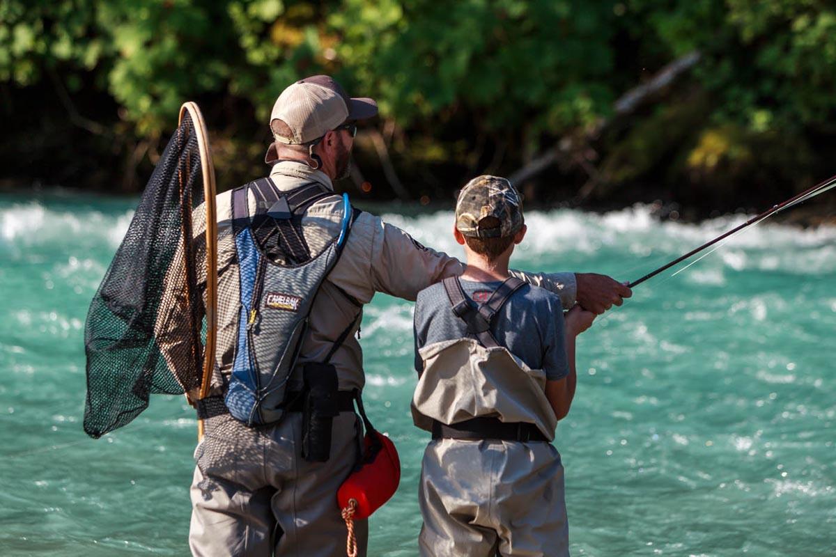 Heli-Fishing Trips near Whistler, BC