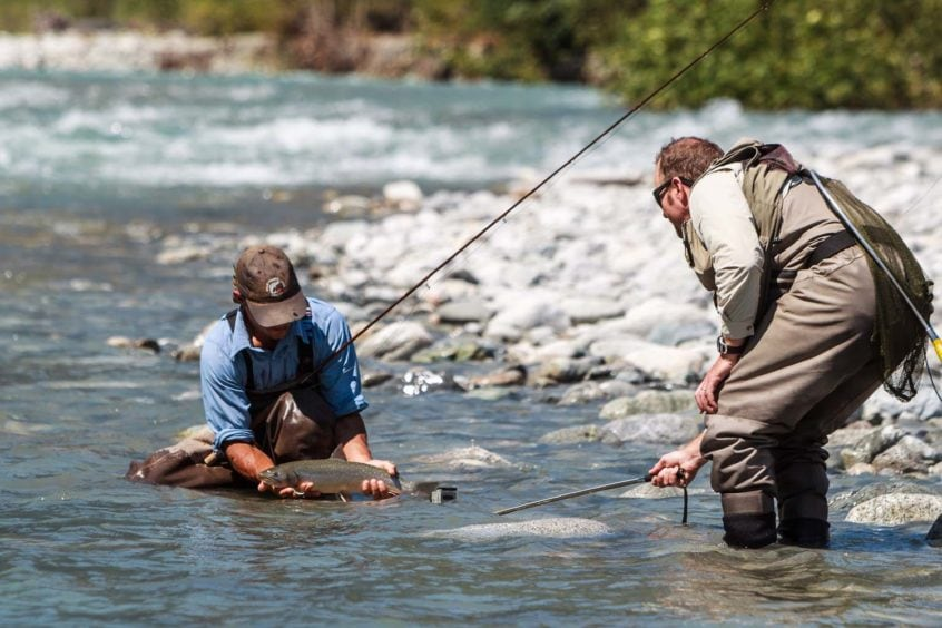 Heli-Fishing Media Heli Fishing B.C.