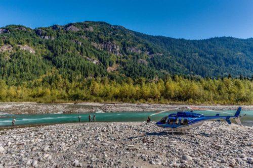 Heli-Fishing BC