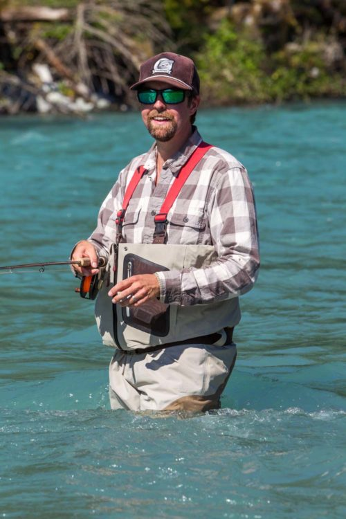Happy Fly Fisher