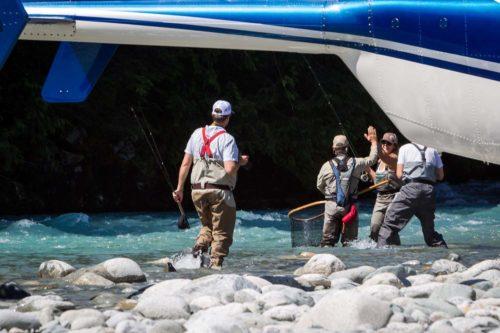 High Five Heli Fishing