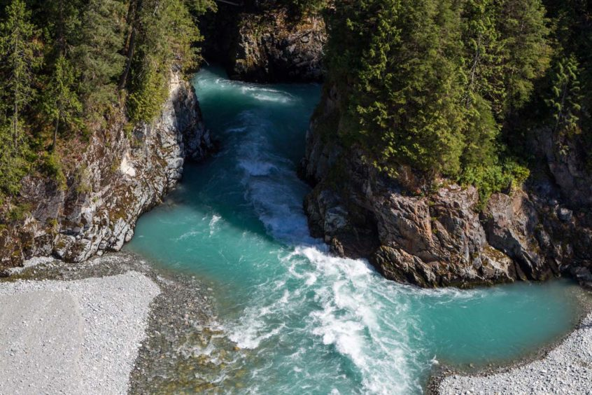 Pitt River Canyon