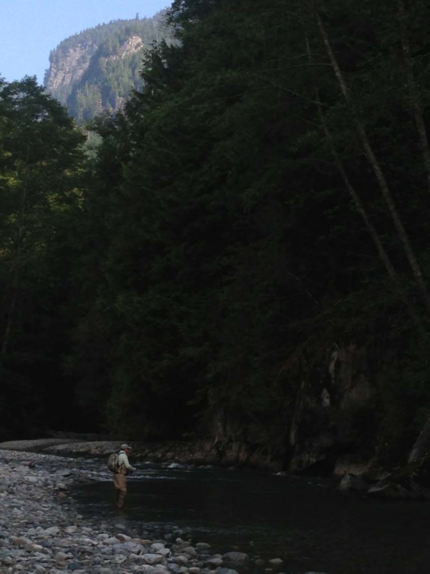 Small River Fly Fishing Whistler