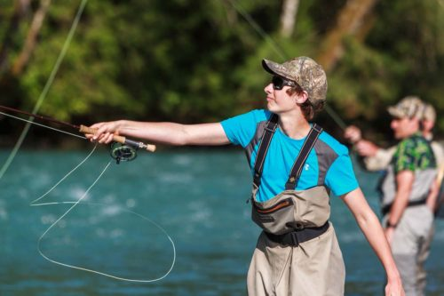 learning to Cast a Fly Rod