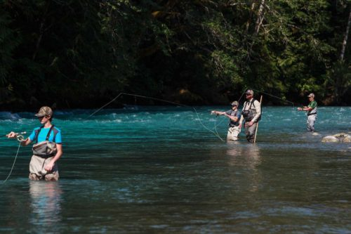 Teaching Fly Fishing
