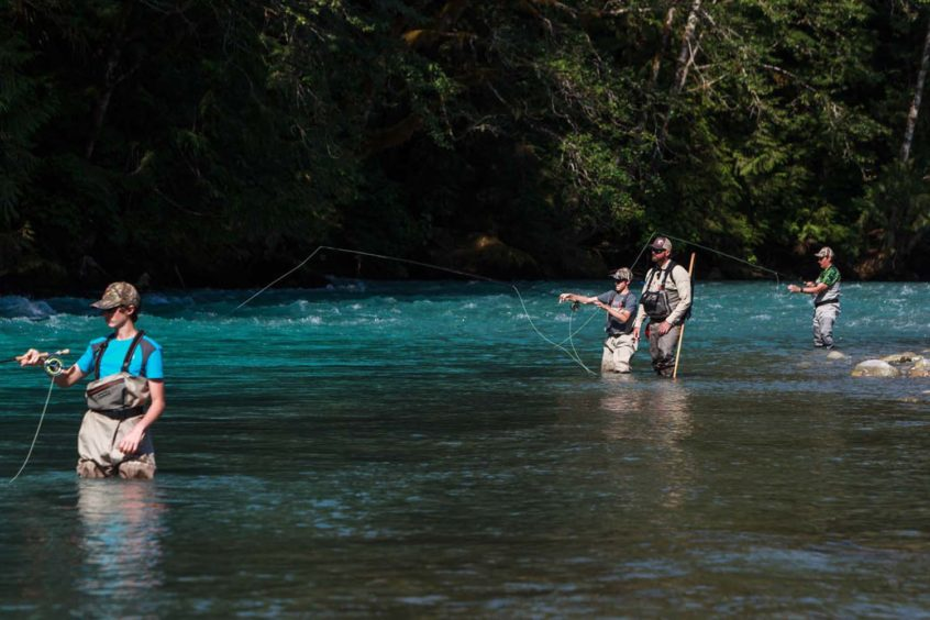 Teaching Fly Fishing