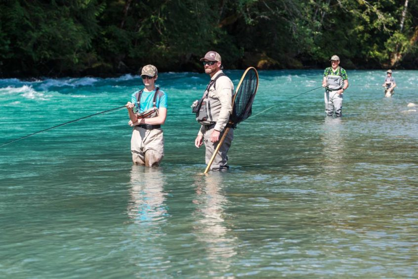 Fly Fishing Family