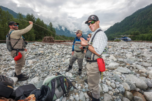 Helicopter Fly Fishing Trips