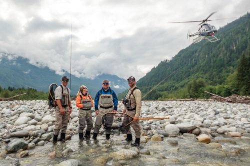 Heli-Fishing Trip
