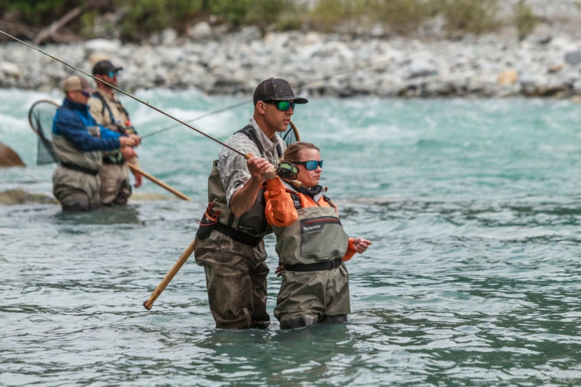 casting streamers for bull trout